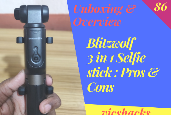 Unboxing & Overview of Blitzwolf 3 in 1 Gadget with Pros & Cons