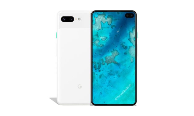 Google Pixel 4XL renders Punch hole Dual camera |Bezel less Display |AndroidQ |Snapdragon 855 in SoC